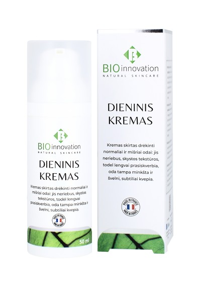Dieninis Kremas BIO INNOVATION® - 50 ml