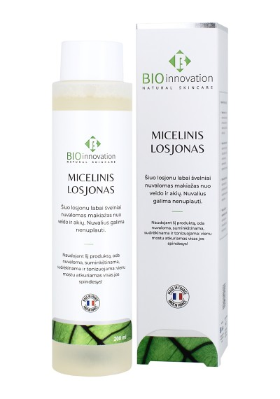 Micelinis Losjonas BIO INNOVATION® - 200 ml