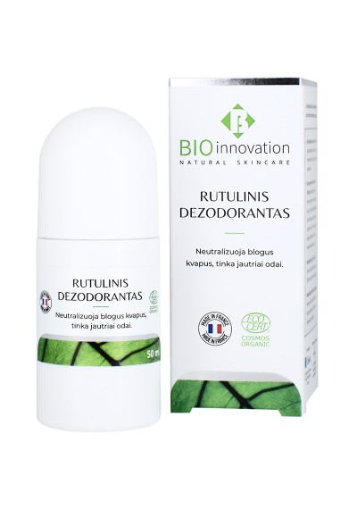 Rutulinis Dezodorantas BIO INNOVATION® - 50 ml