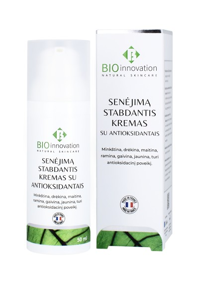 Senėjima Stabdantis Kremas Su Antioksidantais BIO INNOVATION® - 50 ml