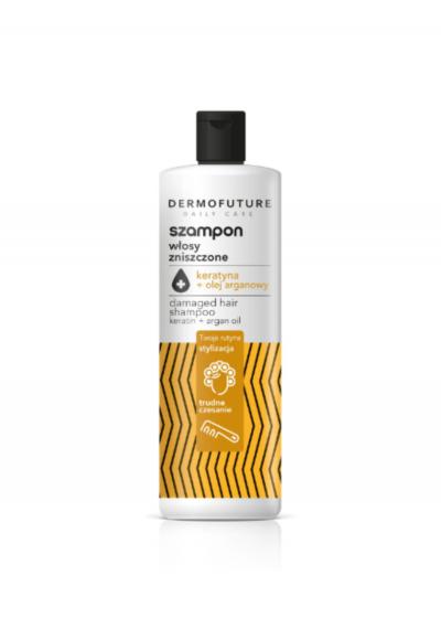 """""""DAILY CARE"""" Šampūnas su keratinu ir argano aliejumi, 380 ml"""