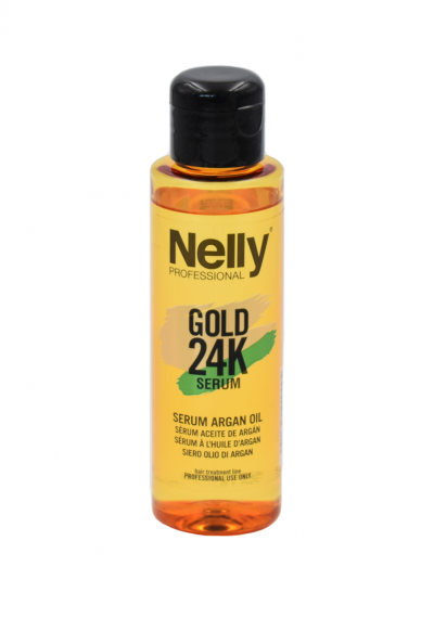 Serumas su arganų aliejumi NELLY PROFESSIONAL 24K, 100ml