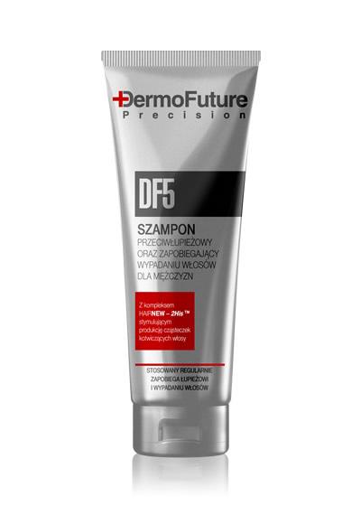 DF5 šampūnas vyrams nuo pleiskanų ir plaukų slinkimo, 200ml