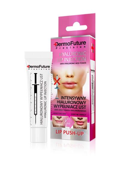 Lūpų užpildas su hialiuronu intensyvaus poveikio, 12 ml