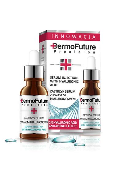 Serumo injekcija DERMOFUTURE su hialurono rūgštimi - 20ml